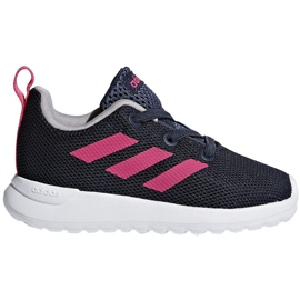 Adidas Lite Racer Cln K Jr BB7053 shoes navy pink