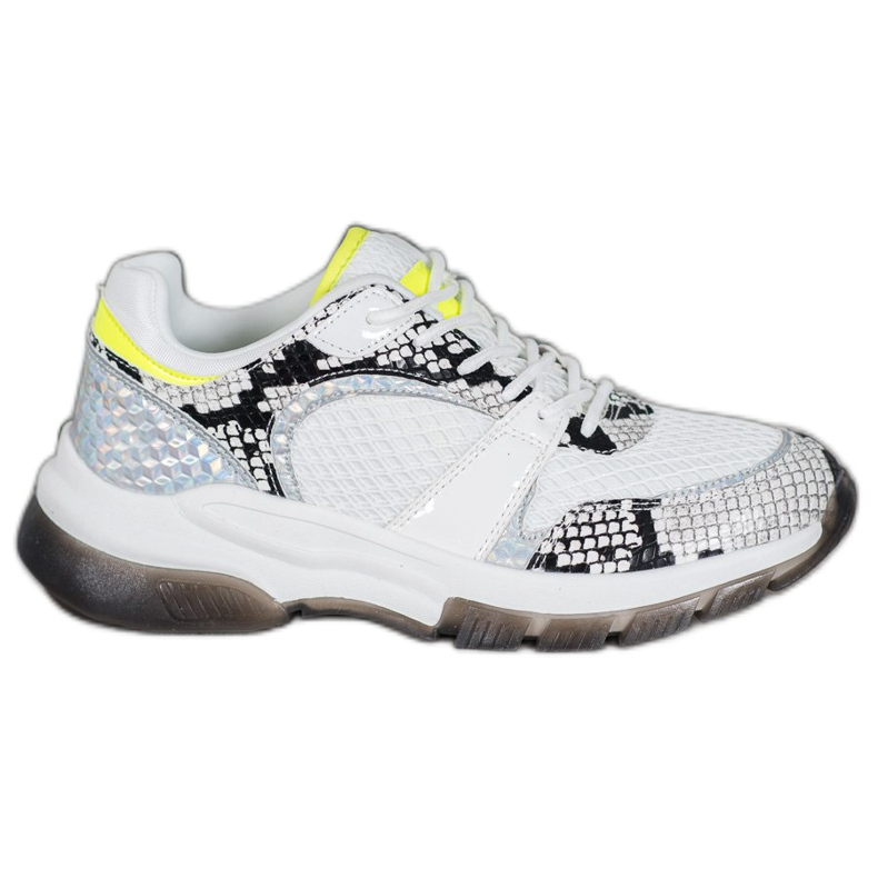 Kylie Comfortable sneakers from Snake Print