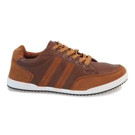 Camel men's sneakers M-616 brown