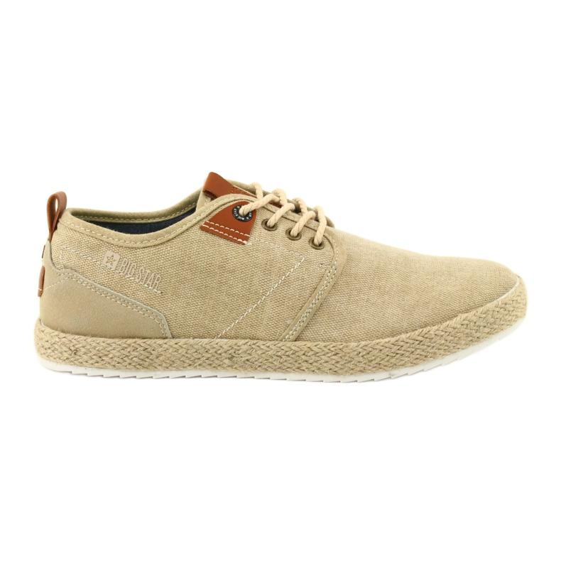 Espadrilles men's shoelaces Big Star FF174153 brown