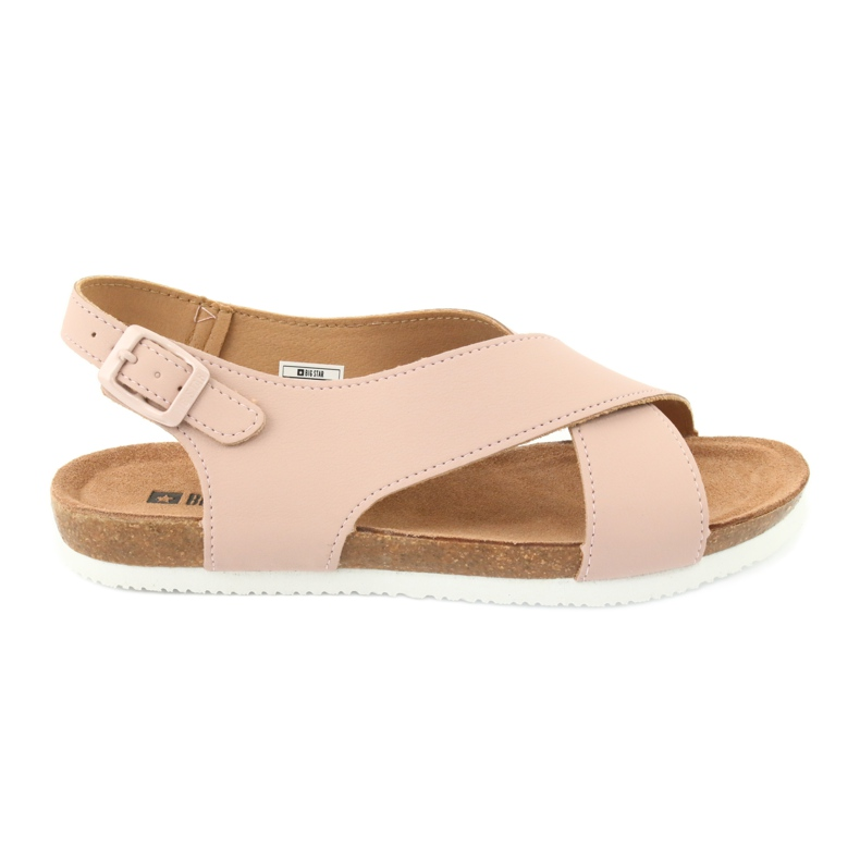 Big Star Women's Sandals FF274624 pink
