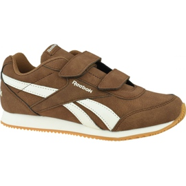 Reebok Royal Cl Jogger Jr DV9149 shoes brown