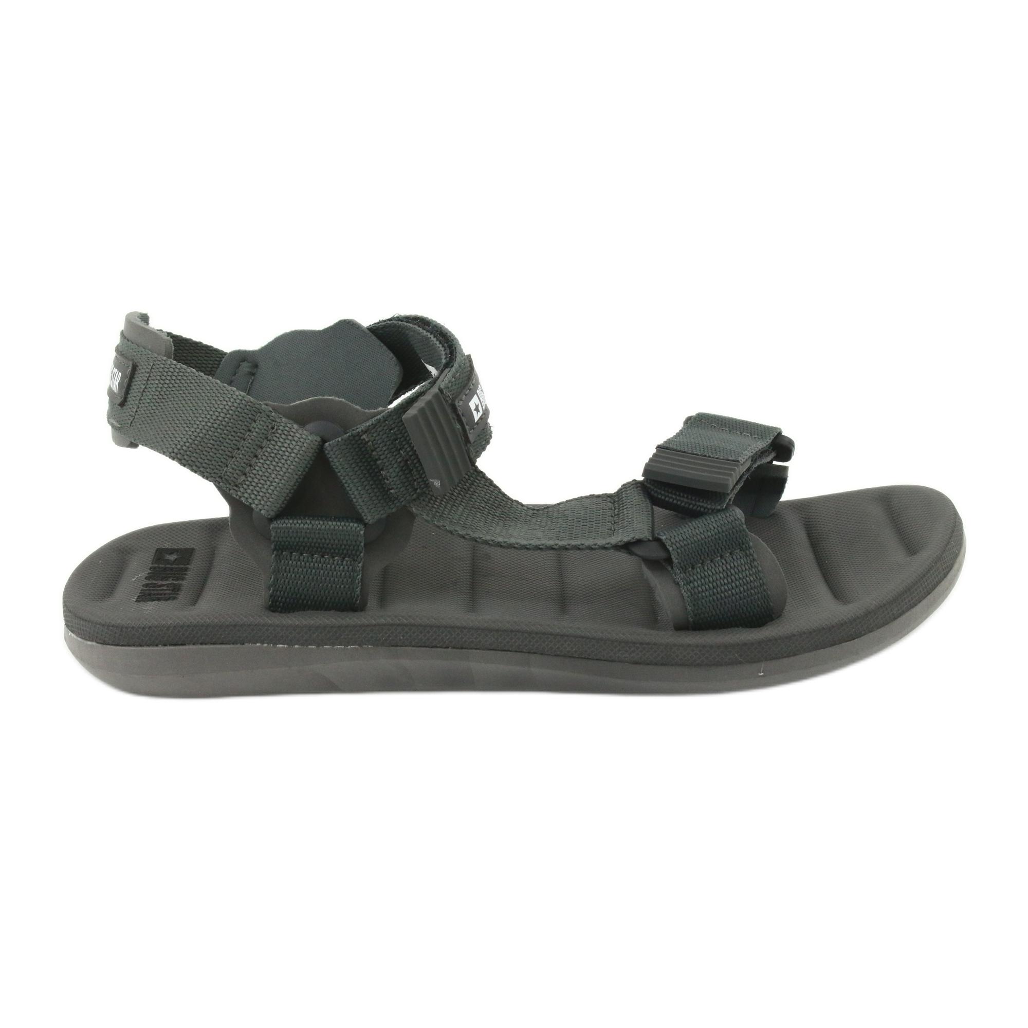 Big Star 174501 men's sandals grey