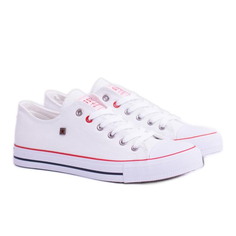 Big Star Low Mens White Sneakers T174102
