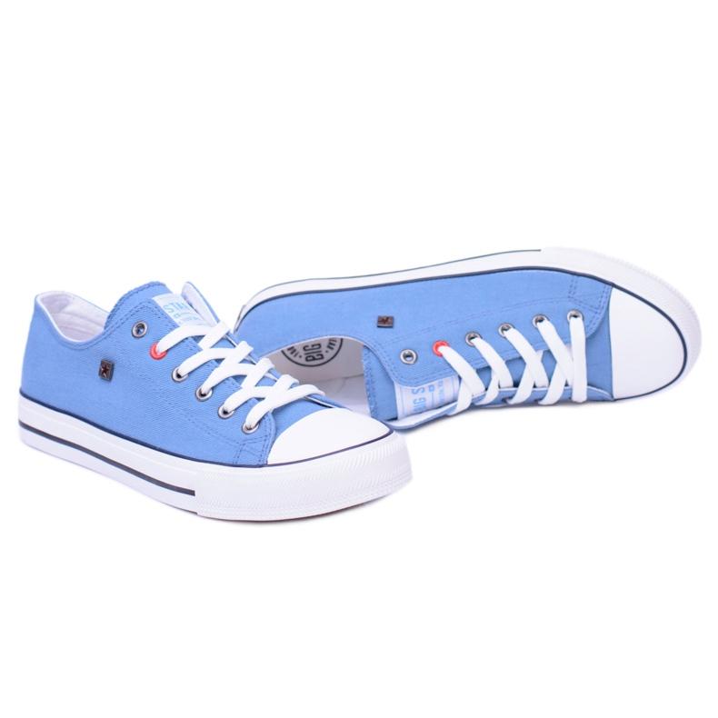 Big Star Low Mens Blue Sneakers T174108