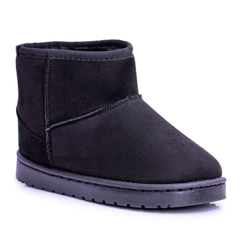 BUGO Insulated Black Children's Youth Boots Snow Boots Gooby