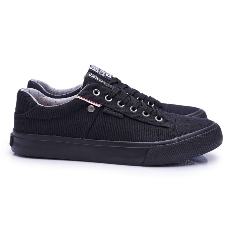 Men's Big Star Sneakers Black AA174096