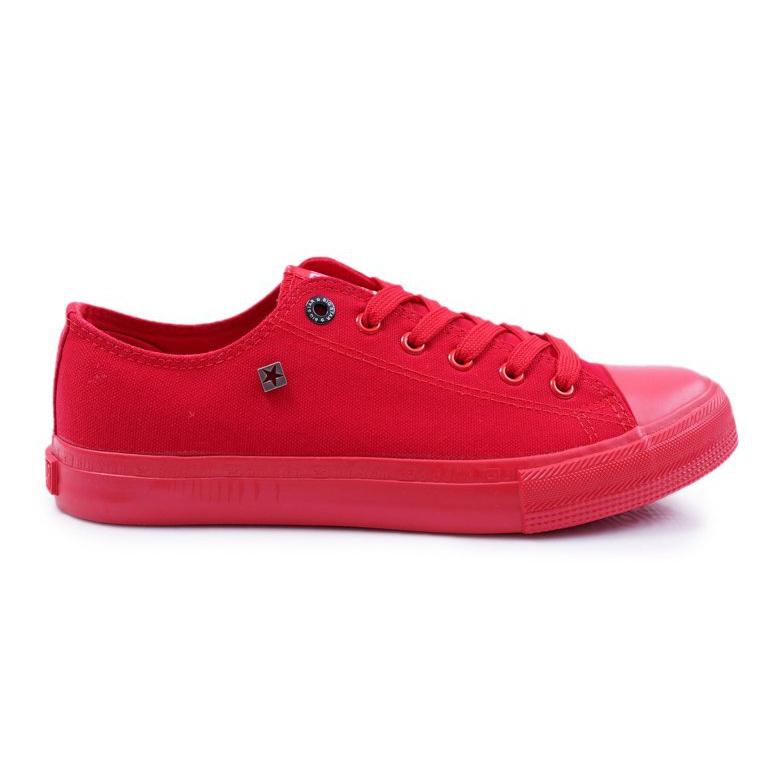 Big Star Men's Low Sneakers Red AA174007SS19