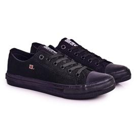 Big Star Mens Low Sneakers Black AA174009SS19