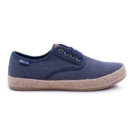 Big Star Espadrilles Men's Sneakers Dark Blue AA174174 navy
