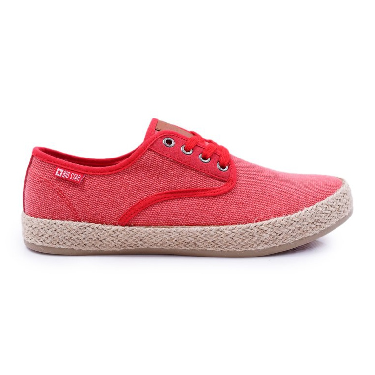 Big Star Espadrilles Men's Sneakers Red AA174173