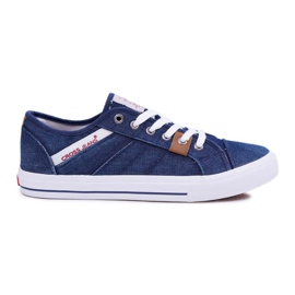 Sneakers Men Cross Jeans Classic Jeans Dark Blue DD1R4027 navy