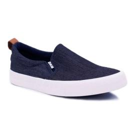 Big Star Jeans Mens Sneakers Dark Blue DD174161 navy
