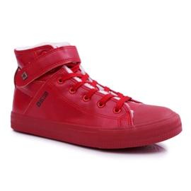 Men's Big Star Sneakers Warmed Red Y174025FW