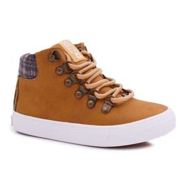 Big Star Camel Boys' Booties EE374039 brown