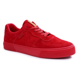Big Star Suede Men's Sneakers Red EE174364