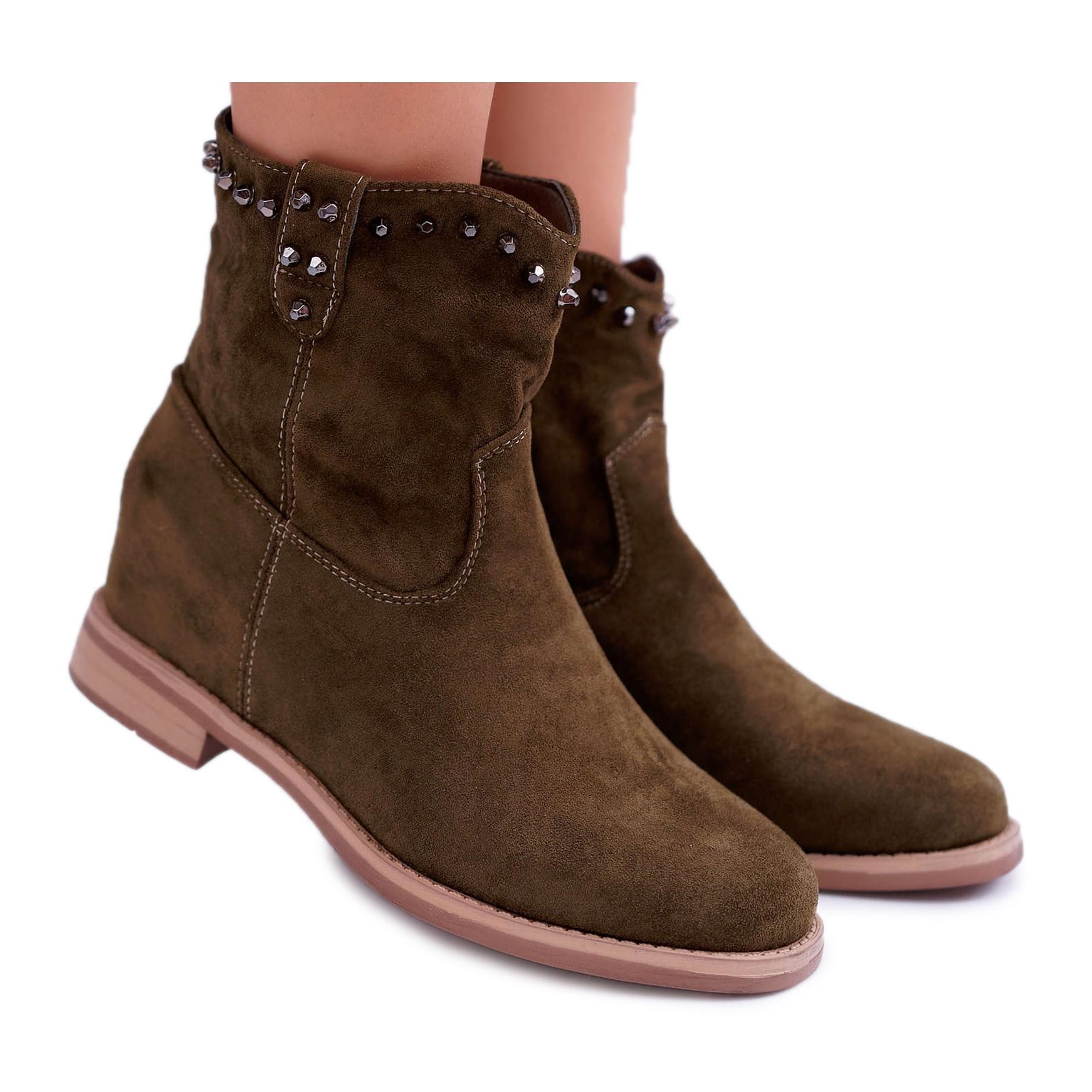 SEA Women's Ankle Boots Flat Heel