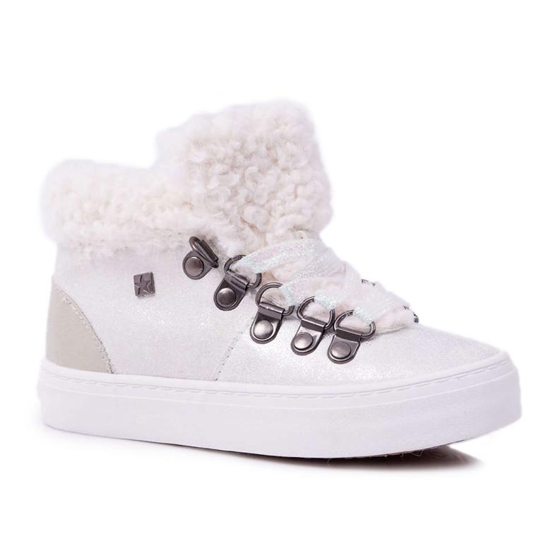 Big Star Baby Girls' Boots White EE374017