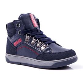 Boys 'Big Star Boys' Shoe Sheep Navy Blue EE374088