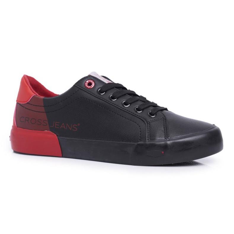 Cross Jeans Black EE1R4046C red