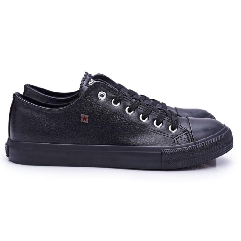 Men's Big Star Sneakers Black V174345
