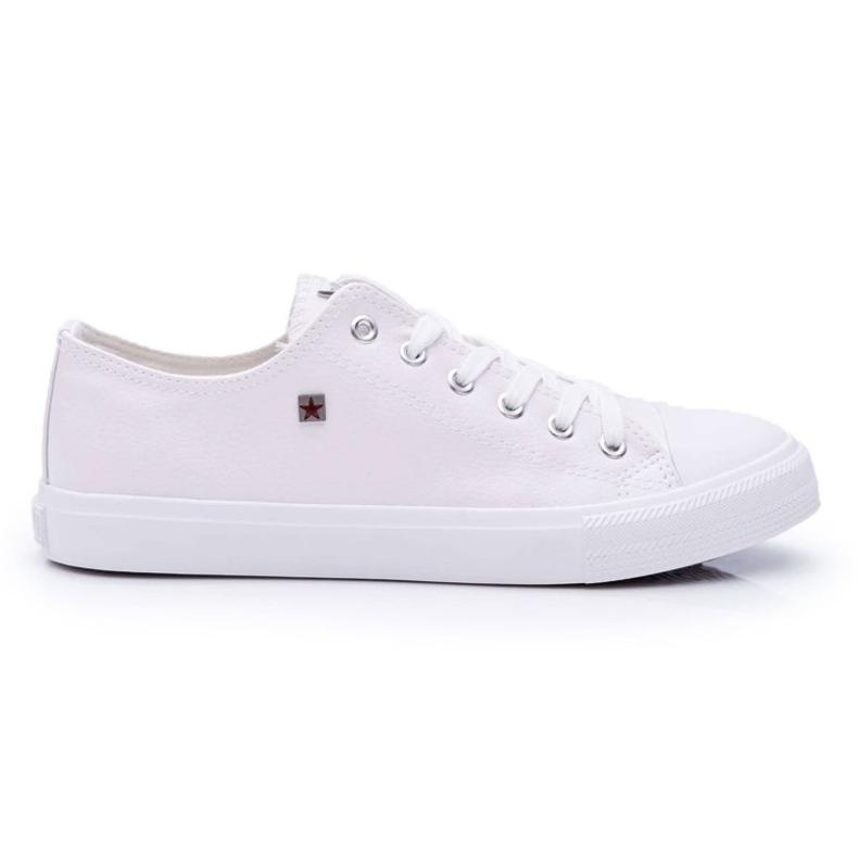 Men's Sneakers Low Big Star White V174347