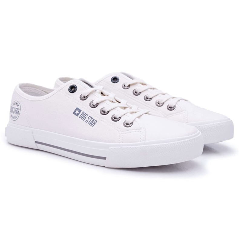 Men's Big Star Sneakers White FF174054