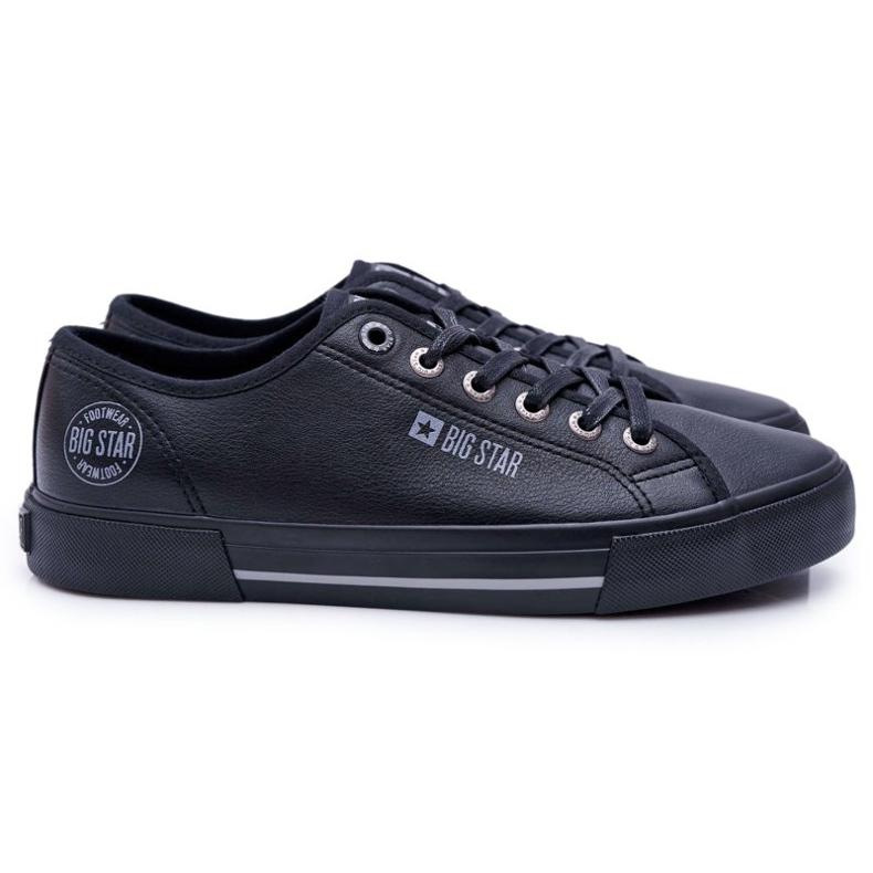 Men's Big Star Sneakers Black FF174053