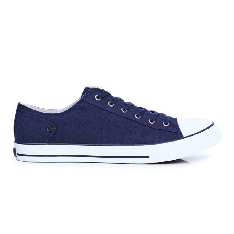 Men's Sneakers Big Star Navy Blue DD174270