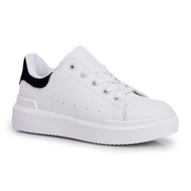 FRROCK Youth Bilbo Sports Velcro Footwear white black