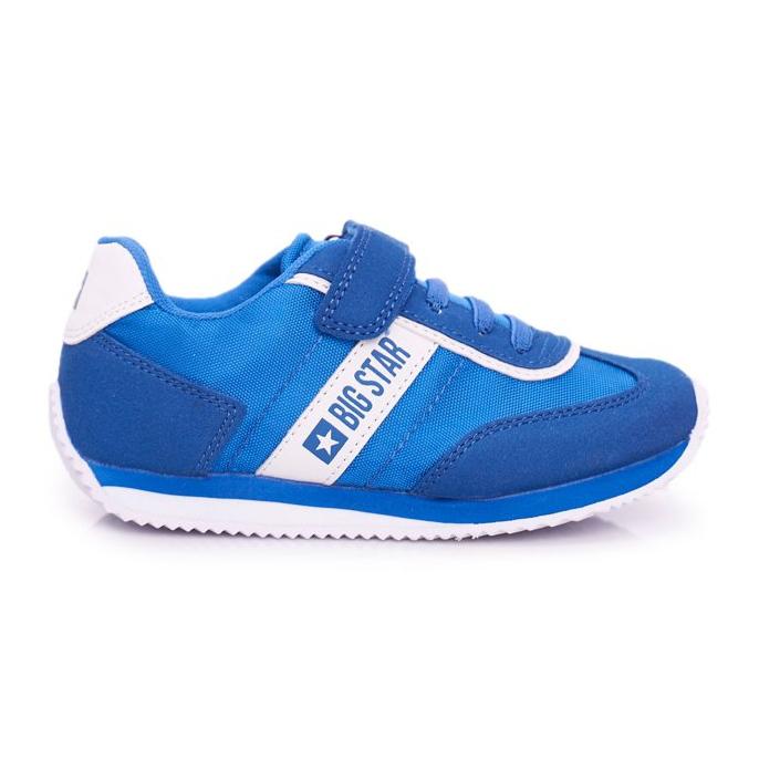 Big Star Sport Shoes For Men Velcro Blue FF374133