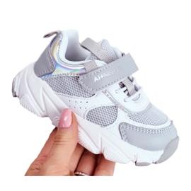 Gray Children's Sport Shoes ABCKIDS B011104349 white grey