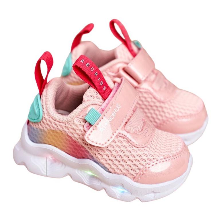 ABCKIDS POLAND Sp. z o.o. Children's shoes Glowing Pink Abckids B011105220