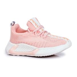 FRROCK Pink Stich Children's Sports Shoes