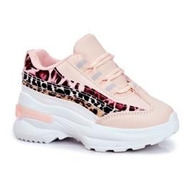 FRROCK Pink Children's Sport Shoes Dante