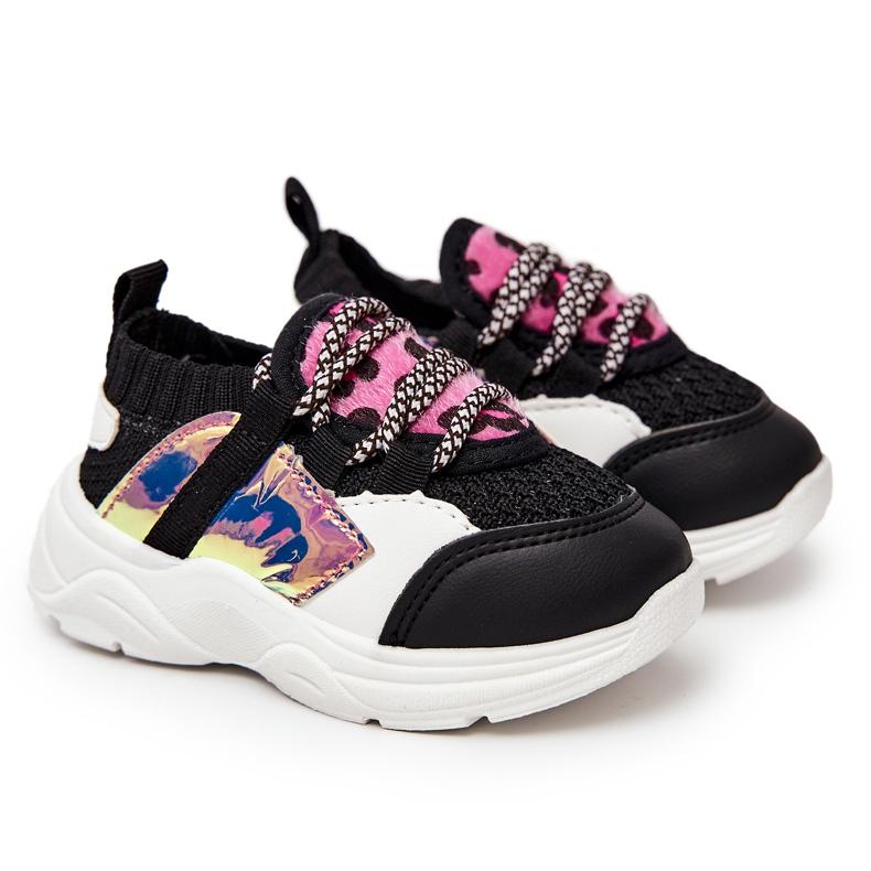 FRROCK Children's Black Velma Sport Shoes