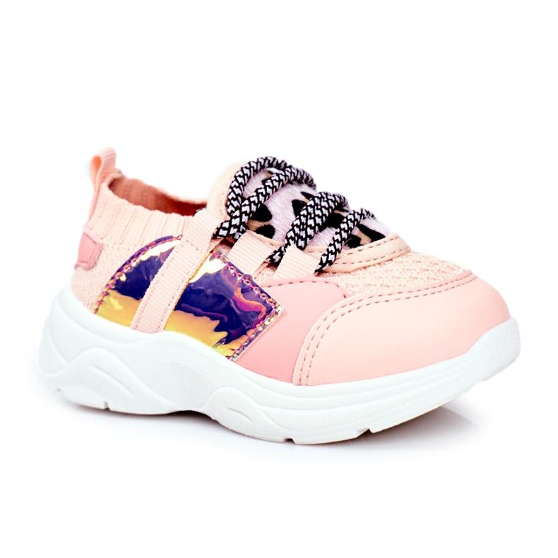 FRROCK Children's Pink Velma Sport Shoes