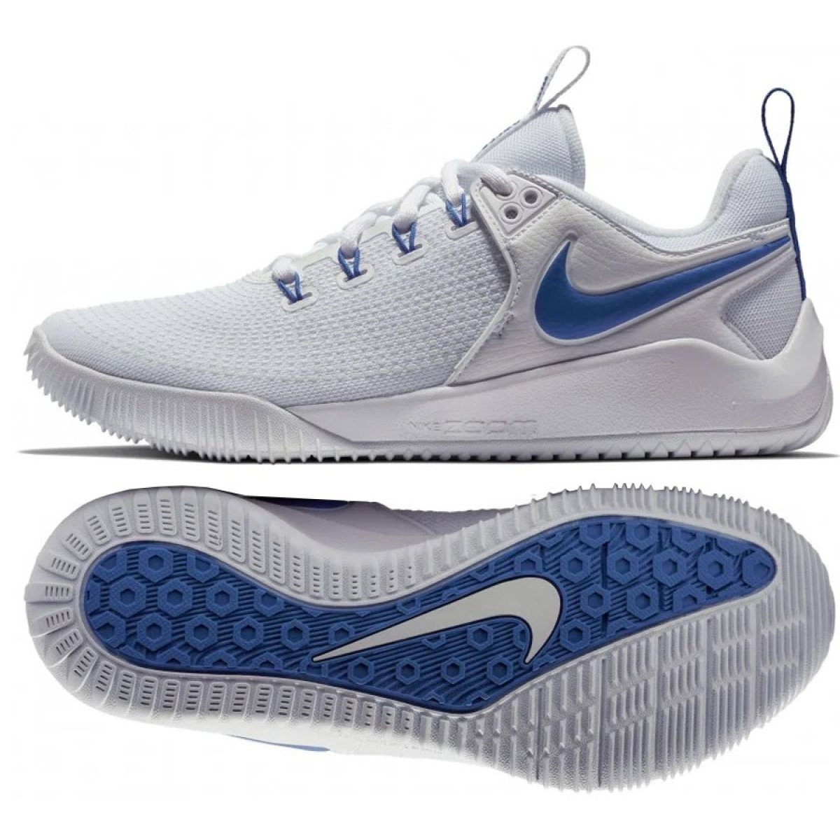 Nike Air Zoom Hyperace 2 M AA0286-104 volleyball shoes white , white