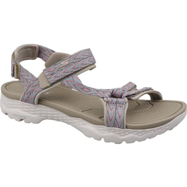 Sandals Skechers Go Walk Outdoors W 14644-TPE beige grey multicolored