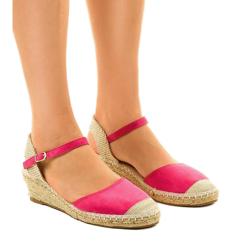 Pink espadrilles 3M85-19