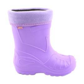 Befado children's purple rain boots 162Y102 violet