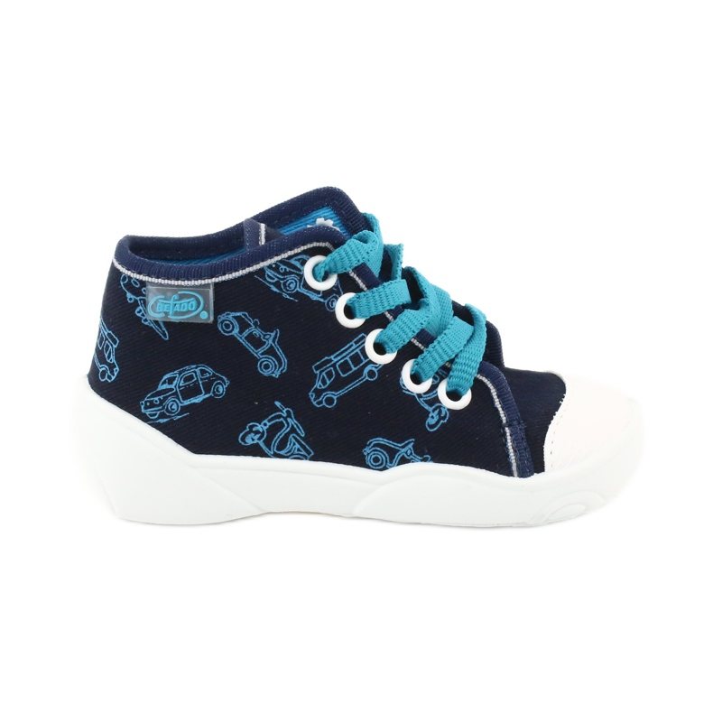 Befado children's shoes 218P059 navy blue