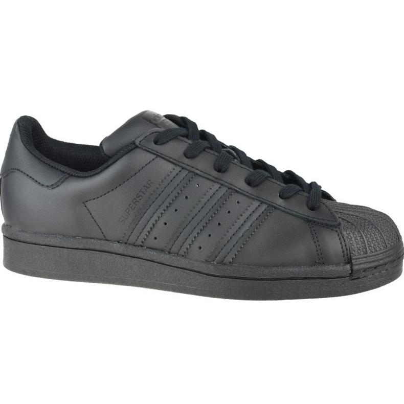 Adidas Superstar Jr FU7713 shoes black grey