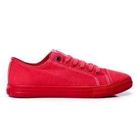 Men's Sneakers Big Star Red FF174336