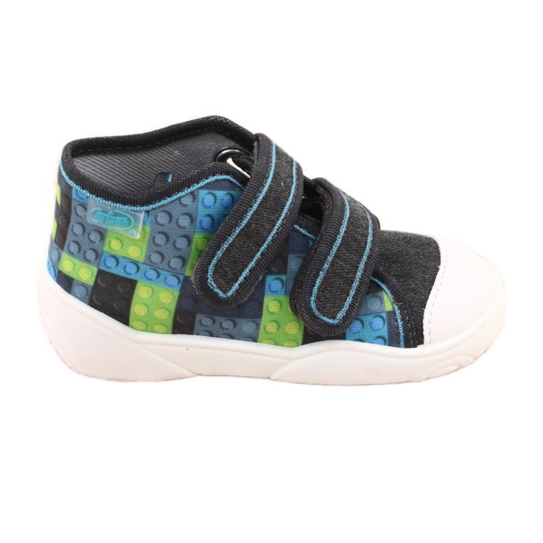 Befado orange children's shoes 212P063