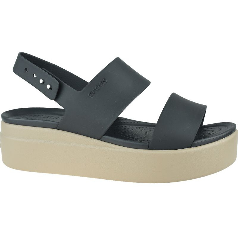 Details about  /CROCS BROOKLYN LOW WEDGE 206453-07H