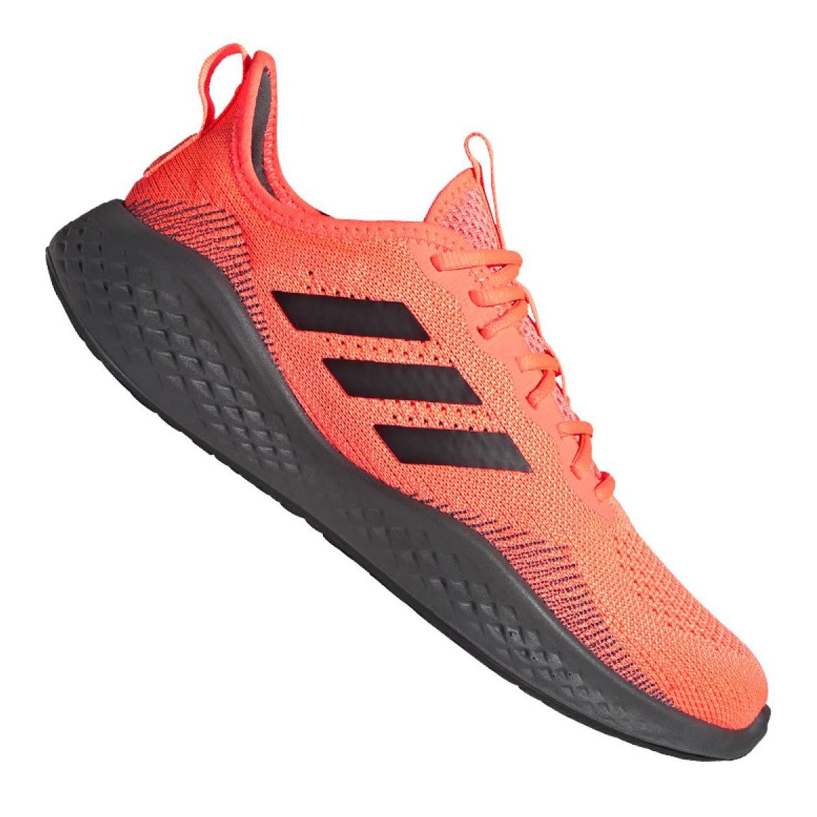 Adidas Fluidflow M EG3664 running shoes black orange