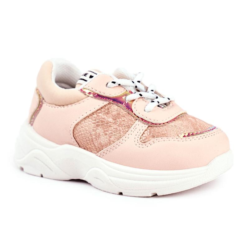 FRROCK Children's Sport Shoes Pink Snake Matylda