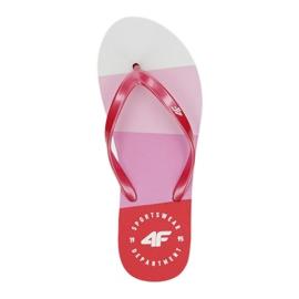 Flip-flops 4F W H4L20 KLD004 white red