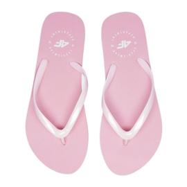 Flip-flops 4F W H4L20 KLD005 pink